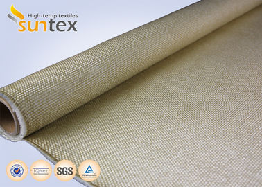 High Temperature Fiberglass High Silica Glass Fiber Fabric For Not Burning