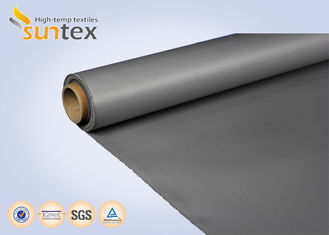 0.4mm Silicon Coated Insulation Fireproof Material Fiberglass Fabric Cloth