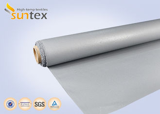 0.7 Mm Thickness Fiberglass Welding Cloth Firestop Non Stick With Wire Inside